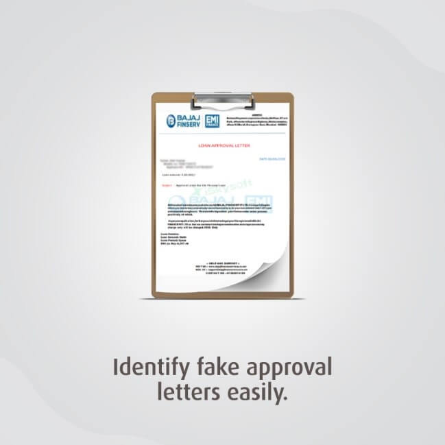 Identify Fake Approval Letters Easily