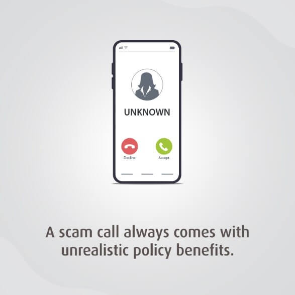 Insurance Scam Calls come with Unrealistic Benefits