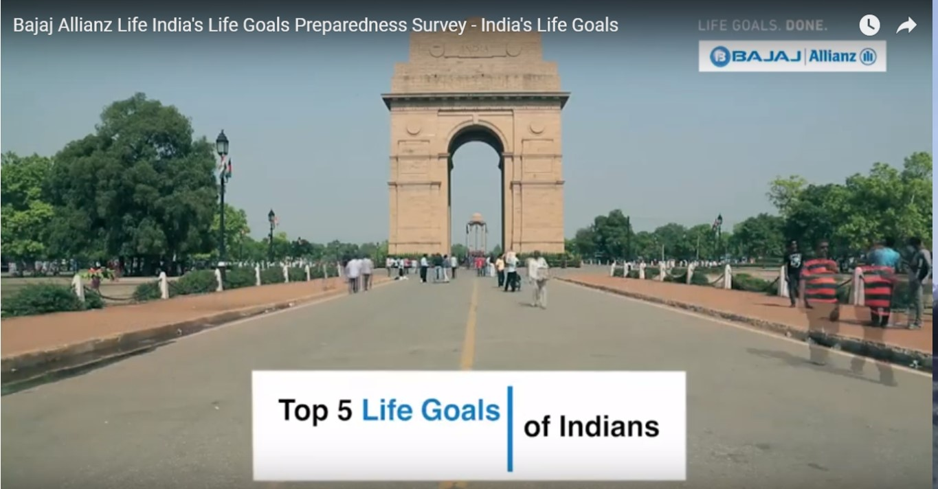 Bajaj Allianz Life India's Life Goals Preparedness Survey - India's Life Goals