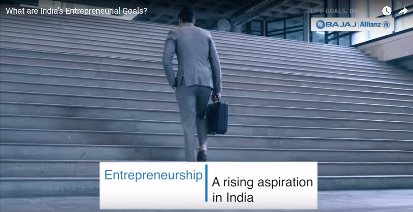 What are India's Entrepreneurial Goals?