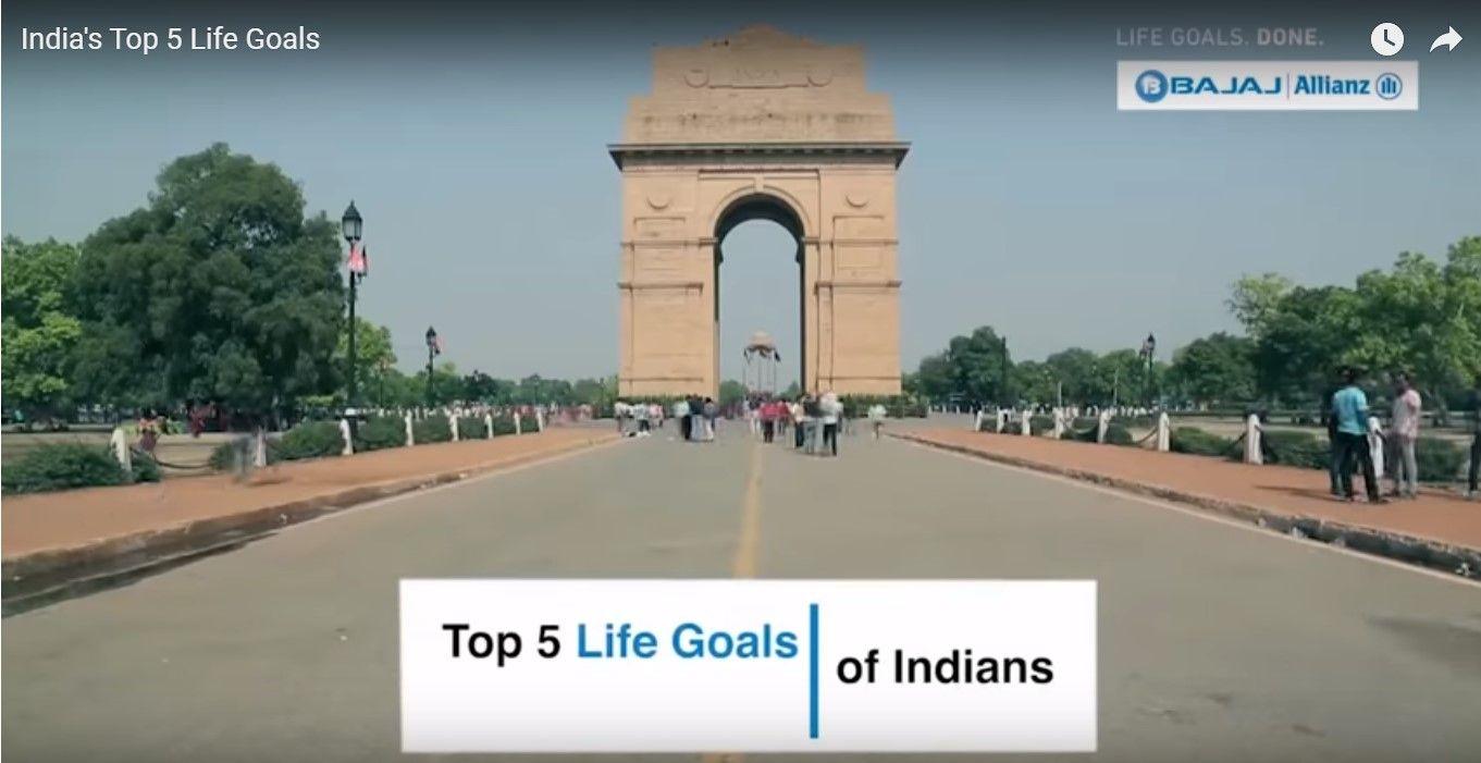 India's Top 5 Life Goals